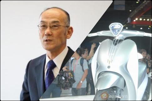 Yamaha ban luan ve dong Glorious 2018 va nhieu dong xe khac trong tuong lai