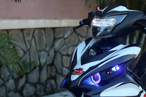 Yamaha Exciter 135 do dep phoi mau dam chat the thao