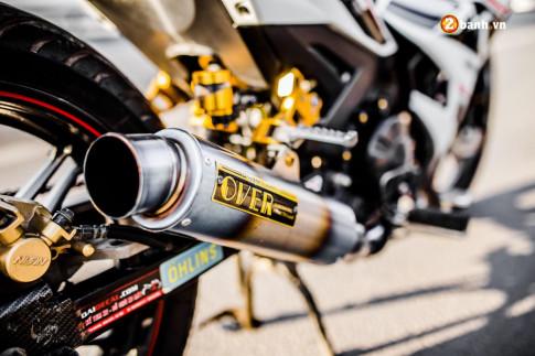 Yamaha Exciter 150 độ hút hồn người xem với nòng súng phá trời