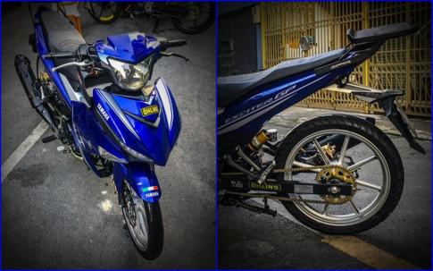 Yamaha Exciter 150 độ mỏng manh với đôi chân giảm cân