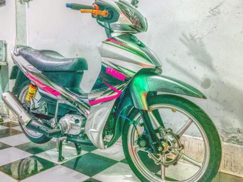 Yamaha Jupiter độ - lột xác với nhiều món đồ chơi quen thuộc