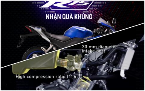 Yamaha Viet Nam he lo se ra mat R15 2018 trong thoi gian toi