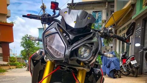 BMW S1000R 'Ca map Nac' nang cap nhe cua Biker Viet