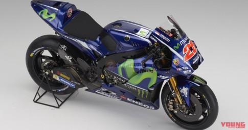 Can canh chi tiet Yamaha M1 2017 nhung van chua hoan thien cho mua giai MotoGP 2018