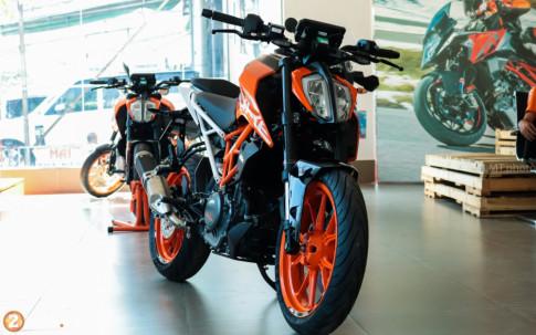 Can canh KTM Duke 390 2018 dau tien tai thi truong Viet Nam