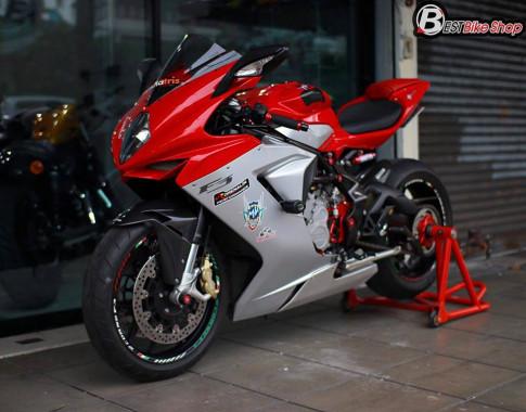 Cận cảnh Siêu mô tô Ý MV Agusta F3 675 nâng cấp nhẹ nhàng đầy sức hút