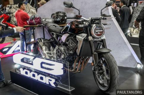 Chi tiết Honda CB1000R tại triển lãm Autoshow Malaysia 2018