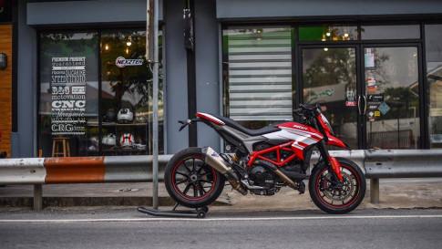 Ducati Hypermotard 939 bản nâng cấp hoàn hảo qua style Hyper SP
