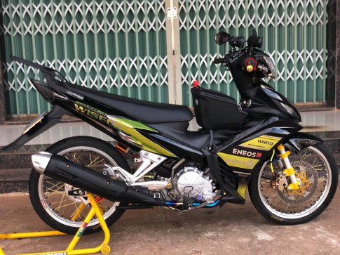 Exciter 135 do don nhe nhang voi ong xa nguoi em Ex150