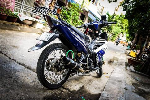 Exciter 135 độ kiểng nhẹ gắn bó 6 năm cùng biker Quảng Nam