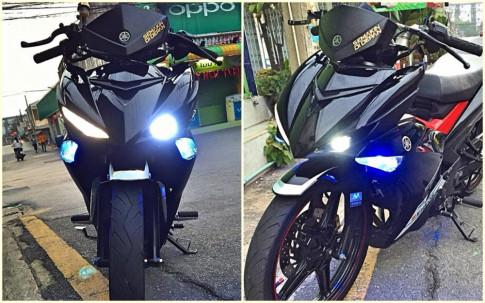 Exciter 150 độ cực ngầu với quả đầu X1R của biker của nước bạn