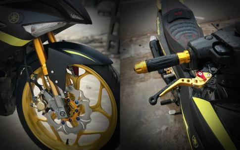 Exciter 150 độ dàn chân đầy cơ bắp của biker Thái Nguyên