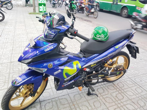 Exciter 150 do loat do choi hang dinh