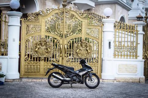 Exciter 150 độ tuyệt đẹp của một Biker nổi tiếng ở Sài Gòn