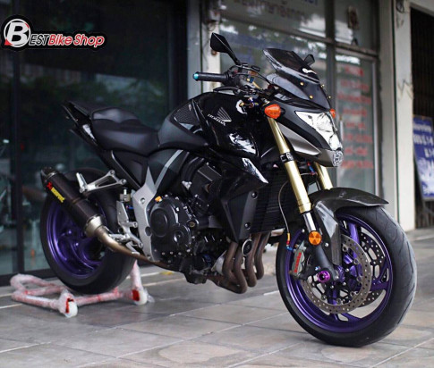 Honda CB1000R ban nang cap tu mau Nakedbike vang bong mot thoi