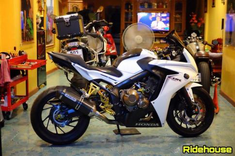 Honda CBR650F ban do trang tinh khoi day loi cuon