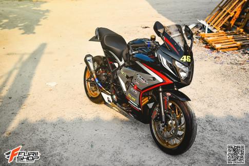 Honda CBR650F do day cuon hut voi thuong hieu do choi cao cap
