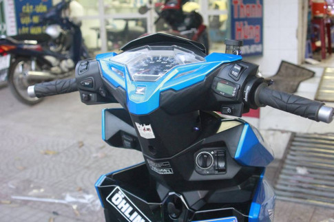 Honda CLick 125 do chien ma duoc up nhieu do choi chat luong
