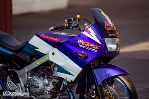 Kawasaki Kips 150 do - su hoi sinh chat lu sau bao nam ngu quen