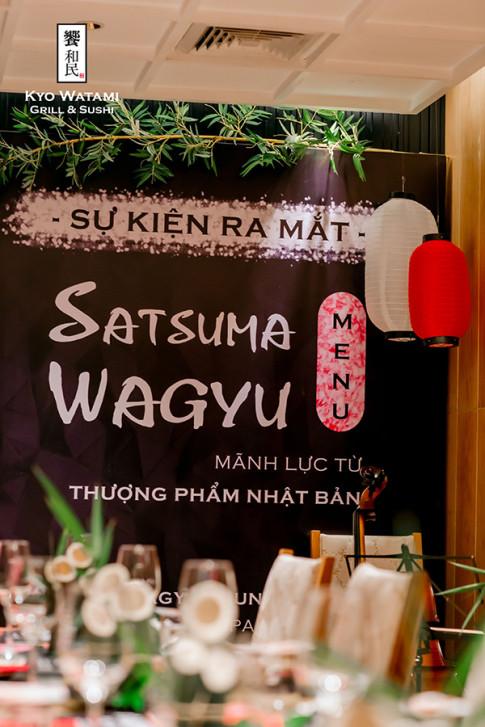 Kham pha su kien hoanh trang ra mat Satsuma Wagyu menu dau tien tai Viet Nam!
