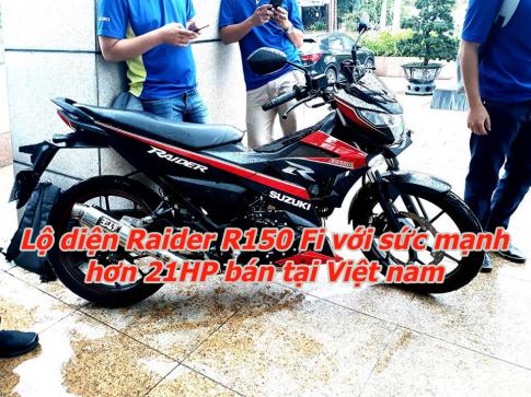 Lộ diện Raider Fi 2019 với công suất hơn 21HP được bán chính hãng tại Việt nam