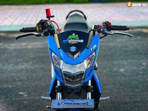Raider 150 Fi do - su goi cam toat len o phan dau cua biker Tien Giang