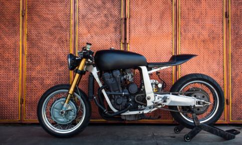SUZUKI GSX-R750 bản độ mang phong cách Retro dưới cái tên Dream Rubber