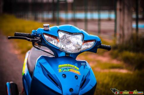 Wave 110 do lay di nhieu cam xuc cho nguoi xem cua biker Thailand