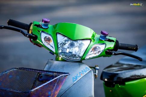 Wave 125 do mang ve dep tinh te cua biker Thai Lan