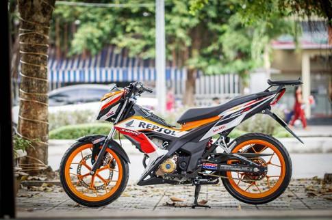 """""""Xe no"""" Honda Sonic 150R do dat gia cua dan choi Viet"""