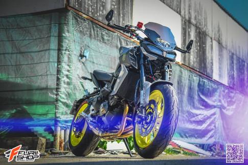 Yamaha MT-09 ban nang cap vuot troi den tu xu Chua Vang