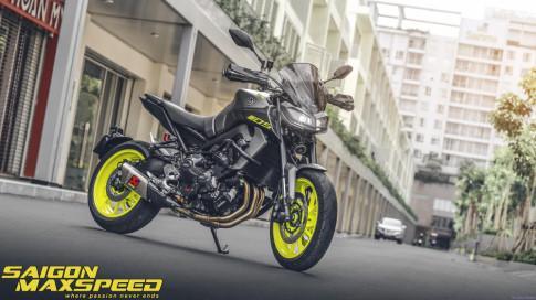 Yamaha MT-09 do an tuong cua Nu biker Viet sinh nam 2000