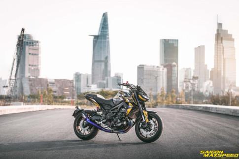 Yamaha MT-09 ve dep hao nhoang sau ban nang cap tren dat Viet