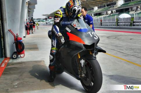 Yamaha Petronas se duoc su dung chiec M1 2019 trong mua giai MotoGP 2019