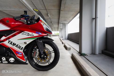 Yamaha R15 do mang option do choi dam chat the thao cua biker Thai