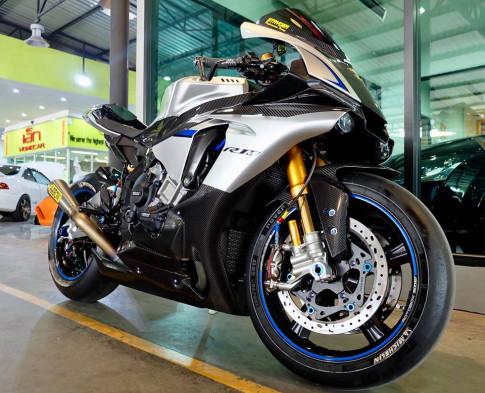 Yamaha R1M day suc hut tu cau hinh khung