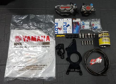 Yamaha XMAX 300 bản độ Scooter cộm cán tại xứ Chùa Vàng