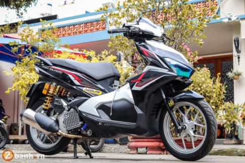 Airblade 125 - Dau an cua biker Viet trong ban do voi loat do choi hang hieu