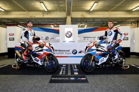 BMW Motorrad chinh thuc ra mat doi dua WSBK 2019