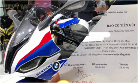 BMW S1000RR 2019 phien ban toi tan nhat M- Performance sap ve Viet Nam
