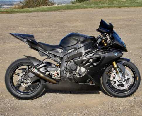 BMW S1000RR do chat choi theo phong cach Full Carbon
