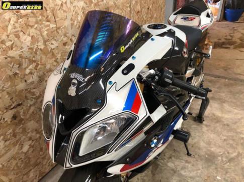 BMW S1000RR do full option lam say dam trieu trai tim nguoi ham mo
