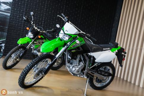 Can canh chi tiet Kawasaki KLX 250 gia tu 121 trieu dong
