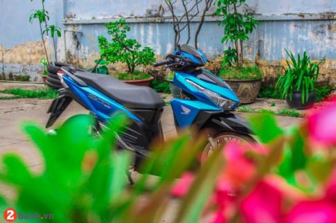 Can canh Click 125 do dan chan dam phong cach Thailand cuc chat.