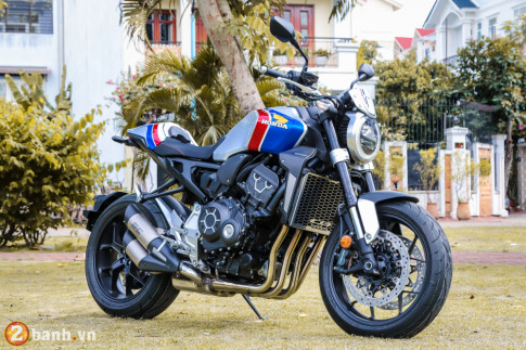 Can canh Honda CB1000R Limited Edition 2019 vua ve Viet Nam