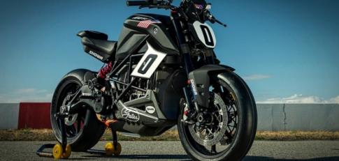 Chiêm ngưỡng Zero SR / F - Mẫu xe máy điện duy nhất tại đường đua Pikes Peak Racer 2019