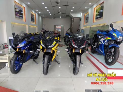 Chon mau nao khi mua xe Yamaha R15 v3 2018
