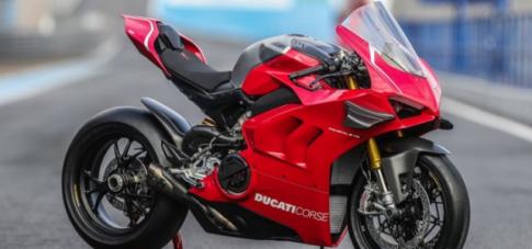 Ducati hoi sinh bo ly hop kho tren mau Panigale V4 R co the lap sang V4
