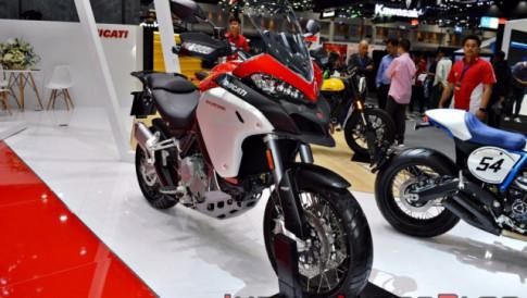 Ducati Multistrada 1260 Enduro chuan bi thay the cho Multistrada 1200 Enduro vao dau thang 7