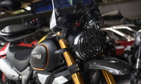 Ducati scrambler 1100 'Man ma' voi phong cach Touring